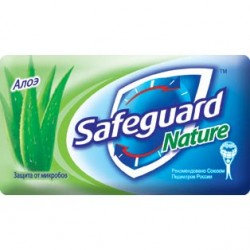 /Мило туалетне SAFEGUARD 90г Алое
