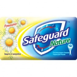 /Мило туалетне SAFEGUARD 90г Ромашка