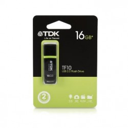 флеш-драйв TDK USB Drive TF10 16 Gb Чорний